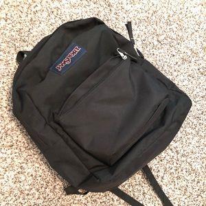 Black Janaport Backpack